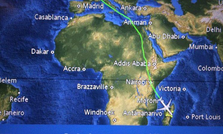 Am ajuns cu bine în cornul Africii - în Madagascar
