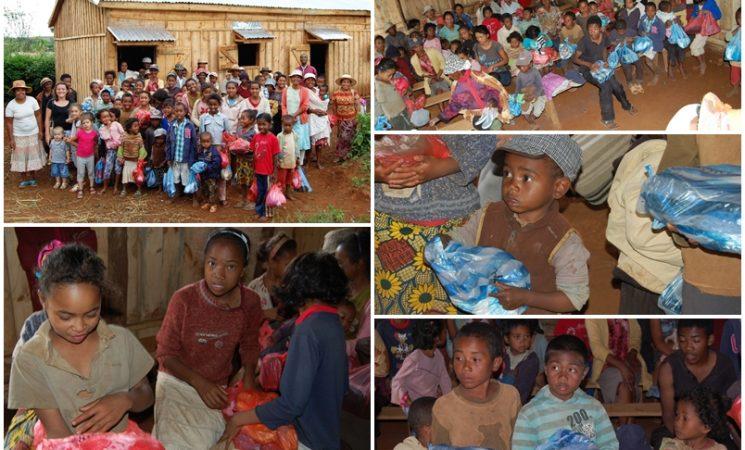 Un proiect mare inainte de Inviere: 500 de pachete de imbracaminte si incaltaminte pentru 400 de copii