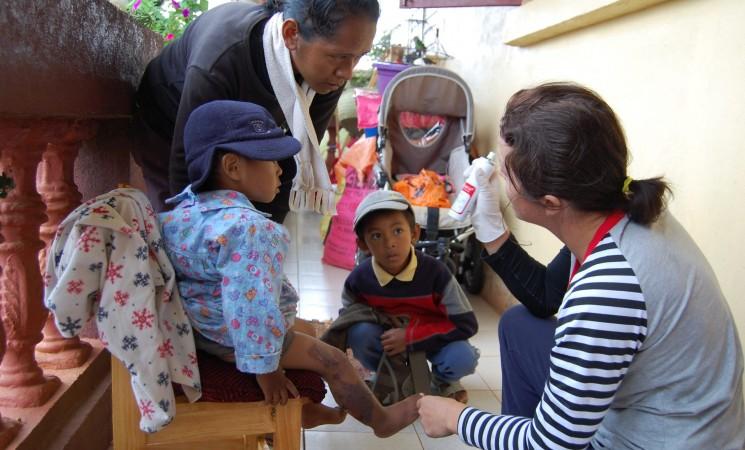 Ajutor medical și cadou primit în medicamente