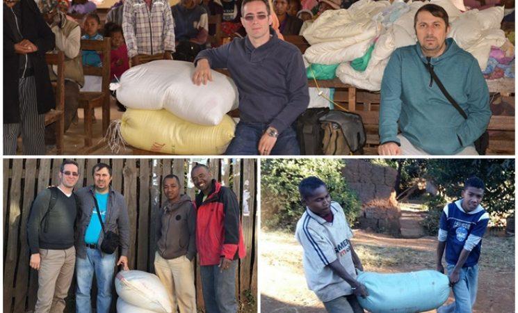 Peste 1 tonă de orez pentru familiile sărace din Biserici