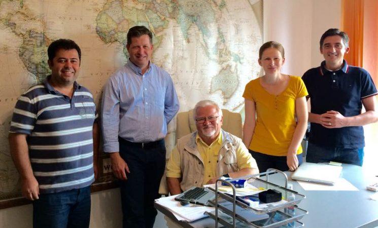 Întâlnire birou APME și reverend Ilie Tomuța - Misiunea Genesis