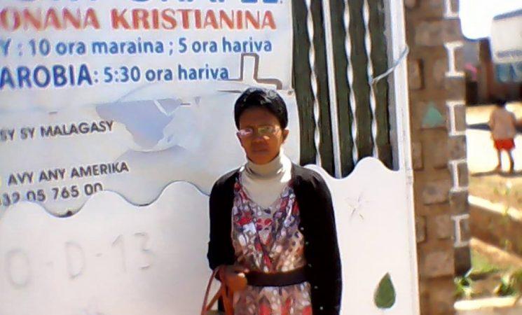 Doamna Soa Fara - un rod al lucrării în Madagascar