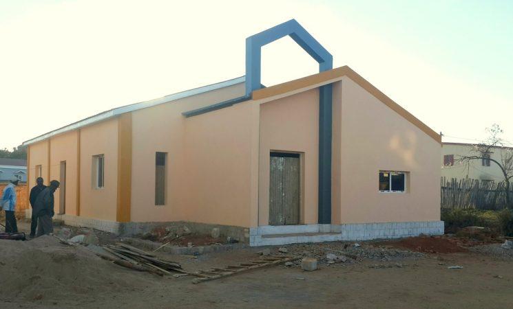 O lucrare aproape de final - Biserica din Ambohimena Sud