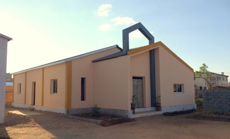 Am reînceput construcția Bisericii din Ambohimena-Sud