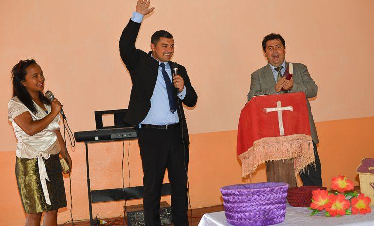 Timp de părtășie în Bisericile din Antsirabe cu echipa din Biserica Betesda, Watford, Londra