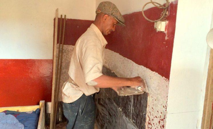 Renovare cabinet medical de nașteri al Dr. Theos din cartierul Tomboarivo