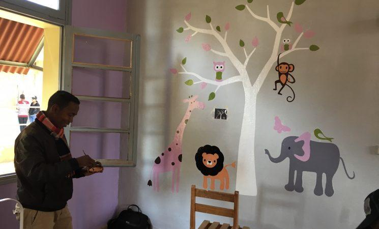 """O provocare cu """"palpitații"""": renovarea Secției de Pediatrie din Spitalul Atsimo"""