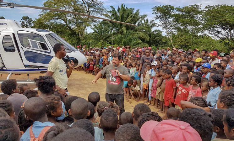Evanghelizare în jungla din Manakara